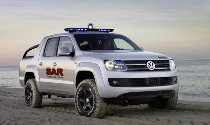 Volkswagen Amarok Dakar Rally Support Vehicle