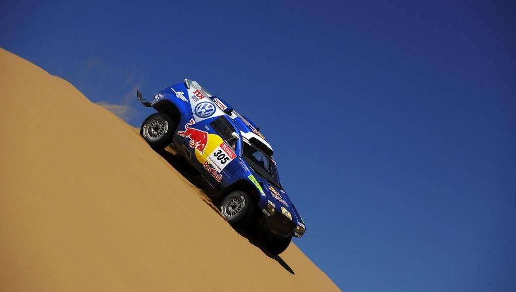Volkswagen Race Touareg at Dakar Rally