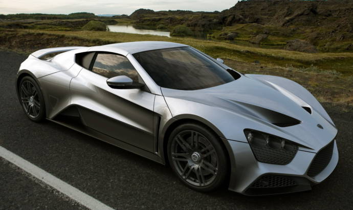 2010 Zenvo ST1 with 1104 HP - Photos and Details