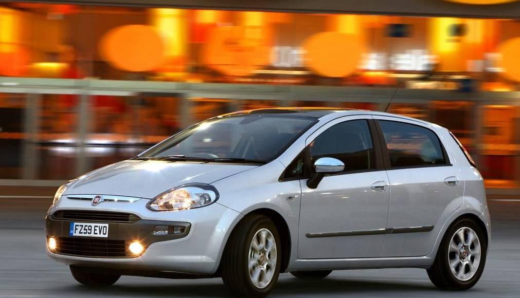 Fiat Punto Evo price for UK