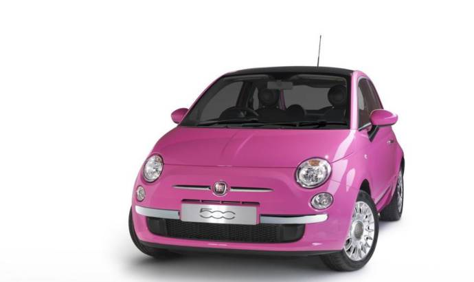 Fiat 500 Pink Edition