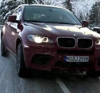 Video: BMW X5 M and X6 M ice drifting