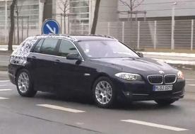 2011 BMW 5 Series Touring Spy Video