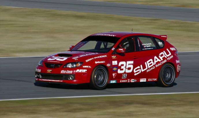 Subaru Impreza WRX STI SRRT racecars