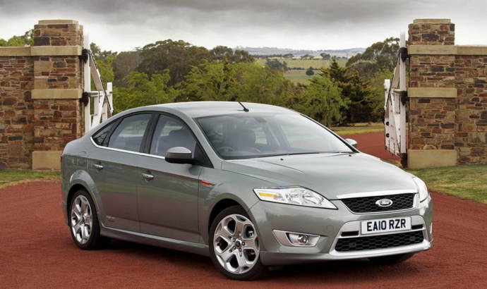 2010 Ford Mondeo, S-MAX and Galaxy Price