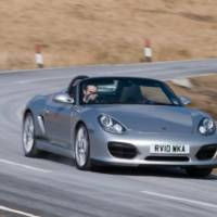 2010 Porsche Boxster Spyder lightweight