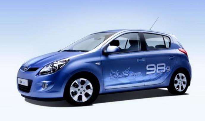 2011 Hyundai i10, i20 and i30 Blue Drive