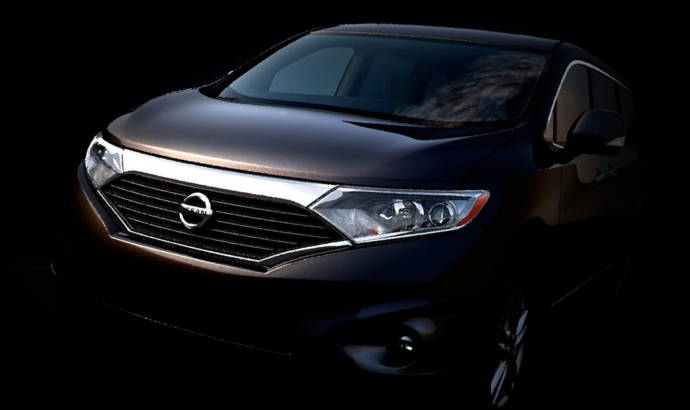 2012 Nissan Quest minivan teased