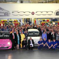 500000th Fiat 500 Produced