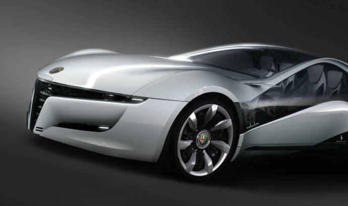 Bertone Alfa Romeo Pandion at Geneva 2010