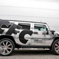 CFC Chromed Hummer H2