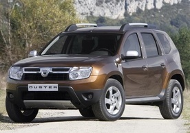 Dacia Duster in UK