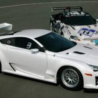 Lexus LFA at Nurburgring 24 Hours