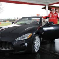 Maserati GranCabrio for Fernando Alonso