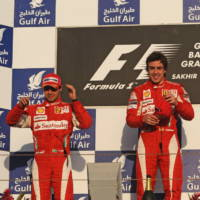 One-two finish for Alonso and Massa in Bahrain F1 GP