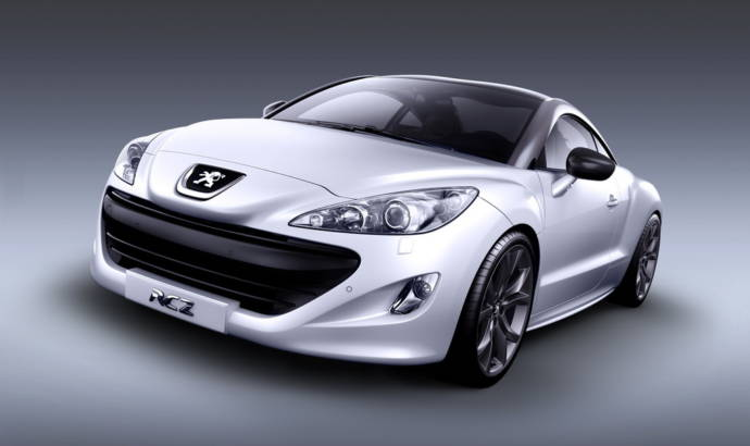 Peugeot RCZ new photos