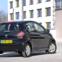 Toyota Aygo Black