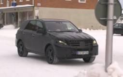 Video: 2012 Mercedes ML spied