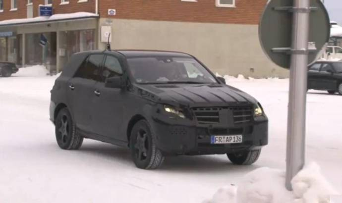 Video: 2012 Mercedes ML spied