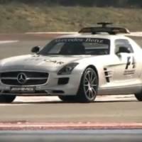 Video: Mercedes SLS AMG 2010 F1 Safety Car
