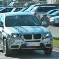 2011 BMW X3 F25 spy video