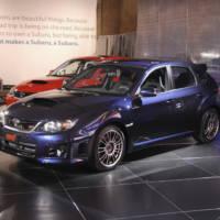 2011 Subaru Impreza WRX STI sedan