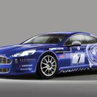 Aston Martin Rapide at Nurburgring 24h