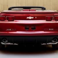 Chevrolet Camaro Convertible revealed