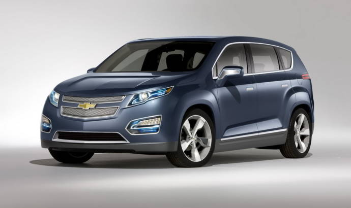 Chevrolet Volt MPV5 Electric Concept