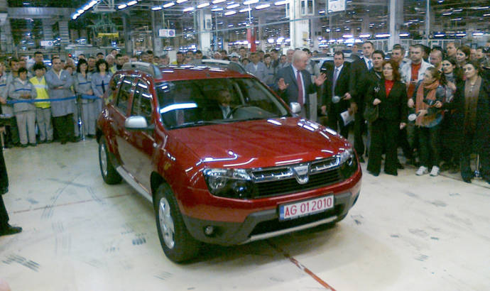 Dacia Duster for the Romanian President