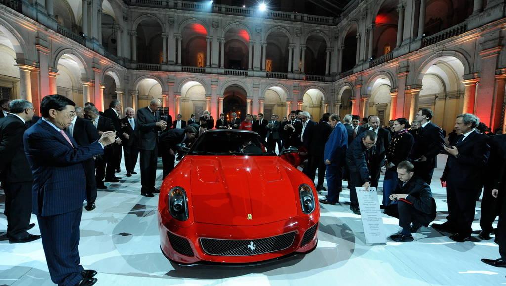 Ferrari 599 GTO sold out