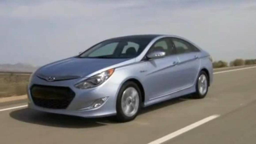 Hyundai Sonata Hybrid Video
