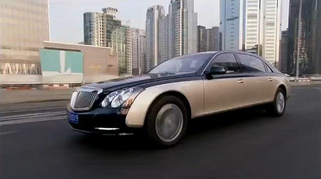 Maybach 57 and 62 facelift