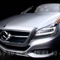 Mercedes CLS Shooting Break Video
