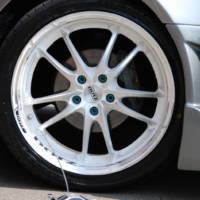Nissan Silvia with Tupac Shaft rims