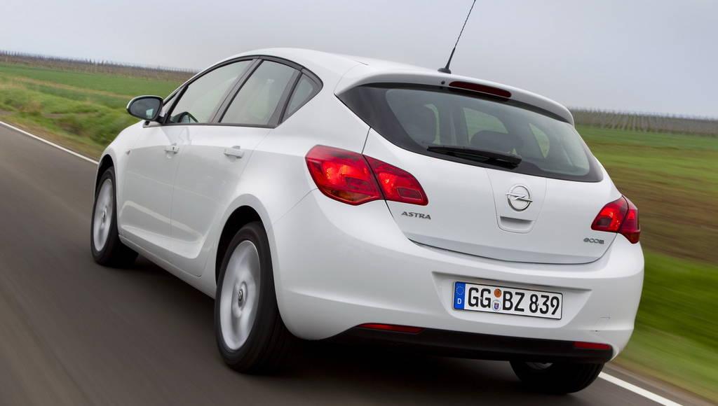 Opel Astra ecoFLEX price