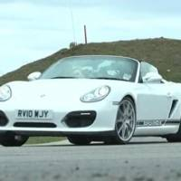 Porsche Boxster Spyder review video