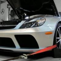 RENNTECH Mercedes SL65 AMG Black Series dyno test