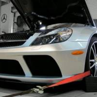 RENNTECH Mercedes SL65 AMG Black Series dyno test