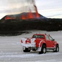 Top Gear drives Toyota Hilux near Active Volcano