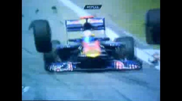 Video: Bizarre Formula 1 Crash