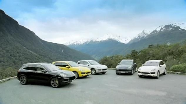 2011 Porsche Cayenne promo video