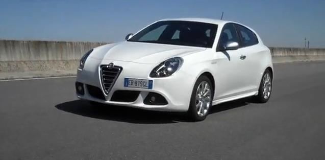 Alfa Romeo Giulietta review video