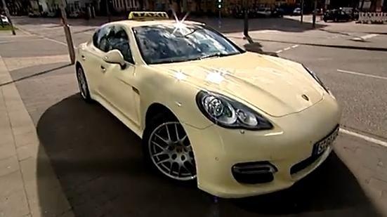 Video: Porsche Panamera Taxi