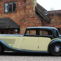 1935 Bentley Saloon auction at Brooklands