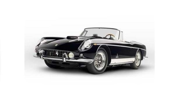 1962 Ferrari 400 Superamerica Cabriolet SWB sold for 3.8 mil USD