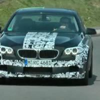 2011 BMW M5 spy video