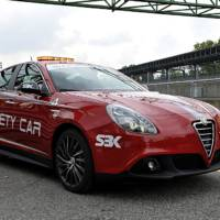 Alfa Romeo Giulietta safety car