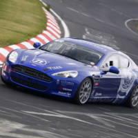 Aston Martin V12 Vantage at Nurburgring 24h