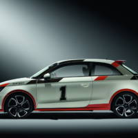Audi A1 customized for Woorthersee